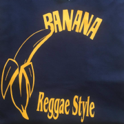 BANANA T-SHIRT NAVY & YELLOW